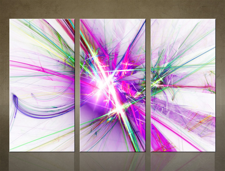 HD Tablouri 3-piese ABSTRACT AB060C3