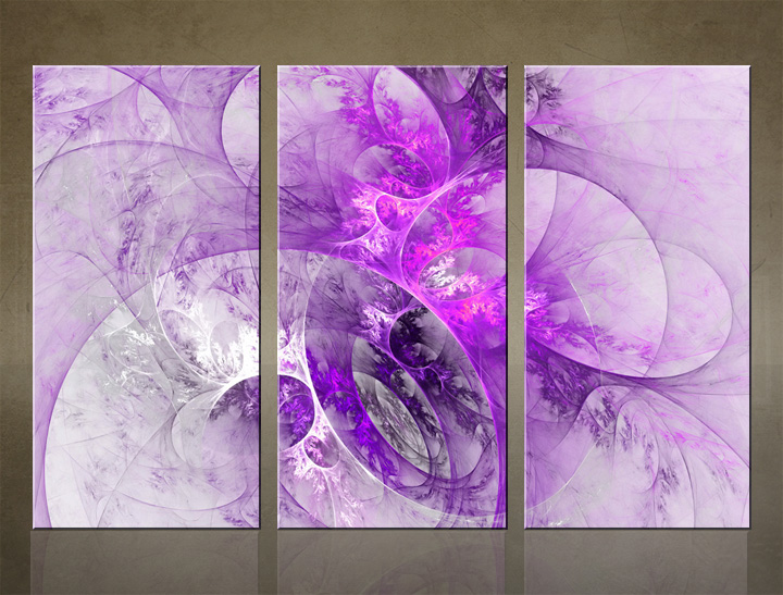 HD Tablouri 3-piese ABSTRACT AB065C3