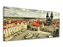 Tablouri canvas ORAȘE Panorama - PRAGA CZ001E13