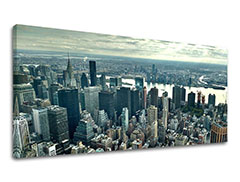 Tablouri canvas ORAȘE Panorama - NEW YORK ME118E13