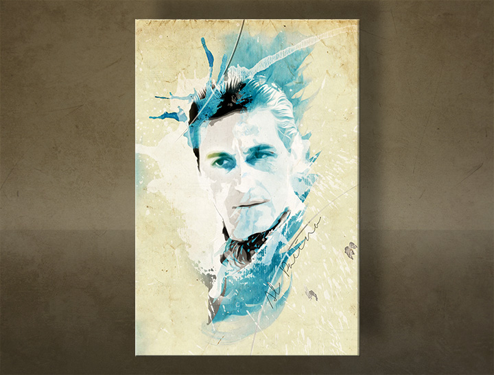 Tablouri canvas Godfather Al Pacino - AQUArt / Tom Loris 001AA1