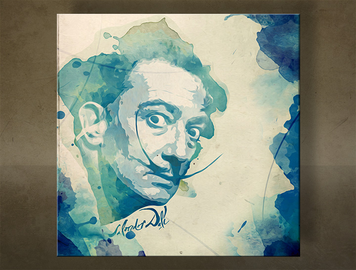 Tablouri canvas Salvador Dalí - AQUArt / Tom Loris 004AA1