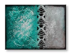 Tablouri pictate manual pe canvas ABSTRACT 1-piesă YOBAM007E1
