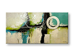 Tablou pictat manual - Reducere 25 % ABSTRACT 200x90 cm FB178E1/24h