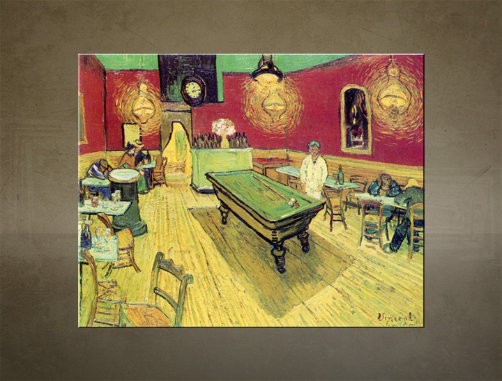 Tablouri NIGHT CAFE – Vincent van Gogh
