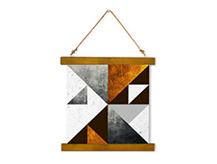 Wall Hanging Canvas Dialogue with Modern Creation - Dan Johannson XMPDJ002