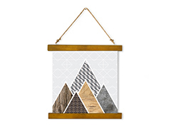 Wall Hanging Canvas Journey and Formation - Dan Johannson XMPDJ003