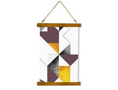 Wall Hanging Canvas Vanishing Surface - Dan Johannson XMPDJ006