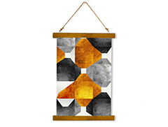 Wall Hanging Canvas Pure Dimension - Dan Johannson XMPDJ008