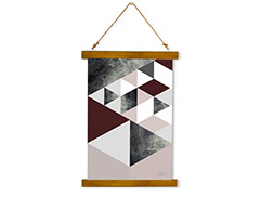 Wall Hanging Canvas Waterfall of Happiness - Dan Johannson XMPDJ009