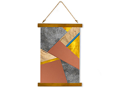Wall Hanging Canvas Turning Tables - Dan Johannson XMPDJ010