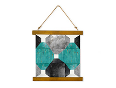 Wall Hanging Canvas In The Garden - Dan Johannson XMPDJ011