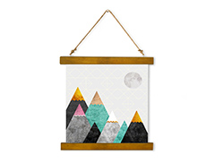 Wall Hanging Canvas Moonlight - Dan Johannson XMPDJ012