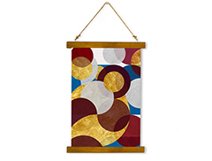 Wall Hanging Canvas Ephemeral Shape - Dan Johannson XMPDJ013