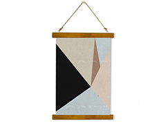 Wall Hanging Canvas Reflecting Logic - Dan Johannson XMPDJ015