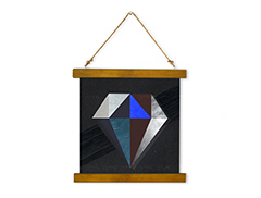 Wall Hanging Canvas My Framed Formation - Dan Johannson XMPDJ017