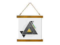 Wall Hanging Canvas Instant Abstraction - Dan Johannson XMPDJ019