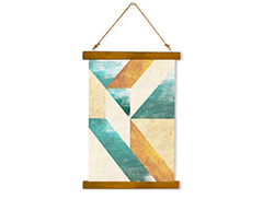 Wall Hanging Canvas Structure & Dream - Dan Johannson XMPDJ024