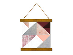 Wall Hanging Canvas Geometric Spirit - Dan Johannson XMPDJ031