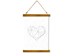 Wall Hanging Canvas Lonely Future - Dan Johannson XMPDJ052