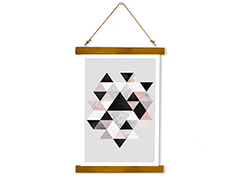 Wall Hanging Canvas Architectonic Nothing - Dan Johannson XMPDJ063