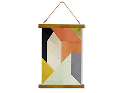 Wall Hanging Canvas Ode to Trapped Device - Dan Johannson XMPDJ079