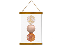 Wall Hanging Canvas Soul with Sequence - Dan Johannson XMPDJ102