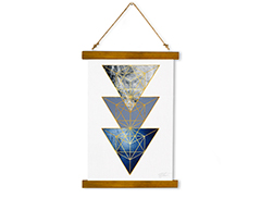 Wall Hanging Canvas Cosmic Resignation - Dan Johannson XMPDJ108