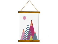 Wall Hanging Canvas Vision of Meditative Action - Dan Johannson XMPDJ132
