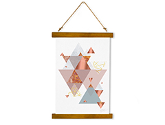 Wall Hanging Canvas Supposed Head 2nd Motif - Dan Johannson XMPDJ139
